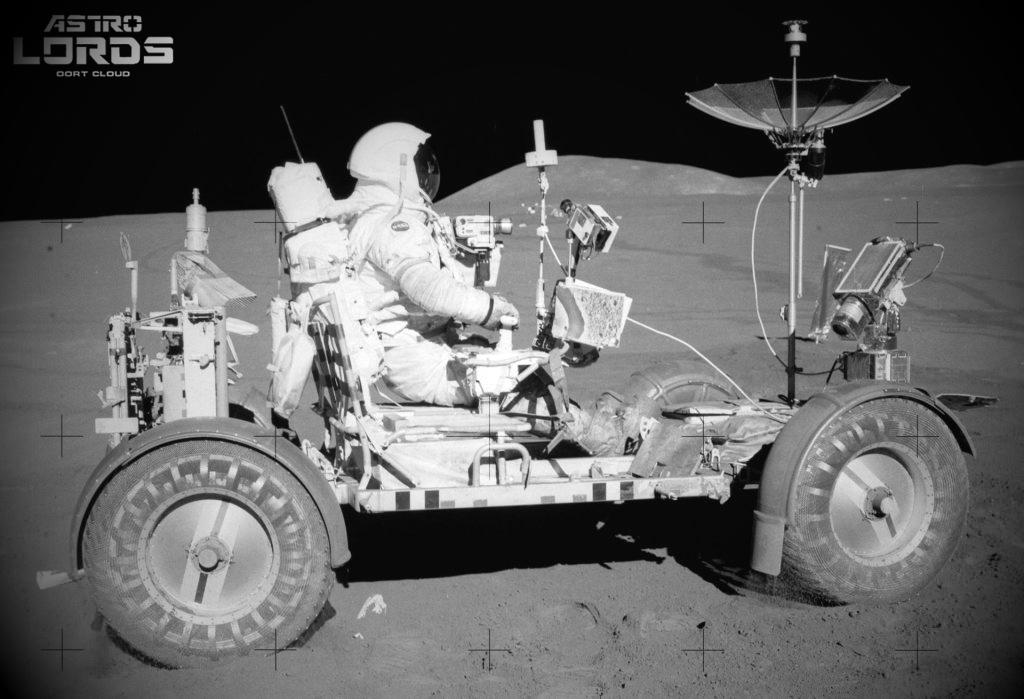 astrolords первый лунный водитель Дейв Скотт 2021 космос игра луна стратегия
