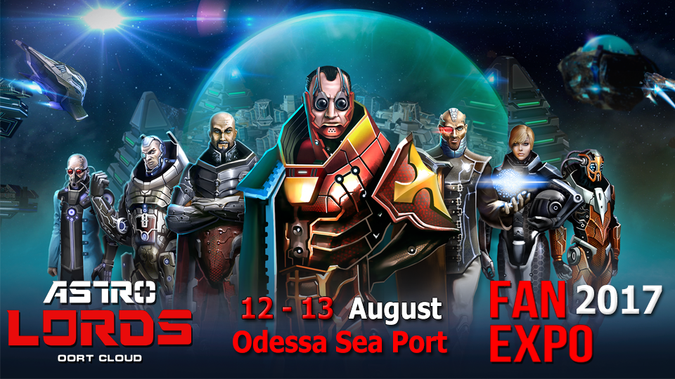 fan expo, astrolords, game, strategy